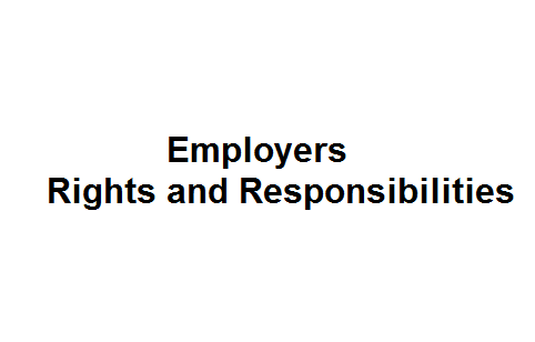 Employers Rights and Responsibilities Image