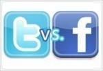 Twitter vs Facebook Image