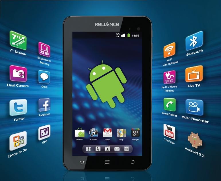 Reliance 3G Tab Image