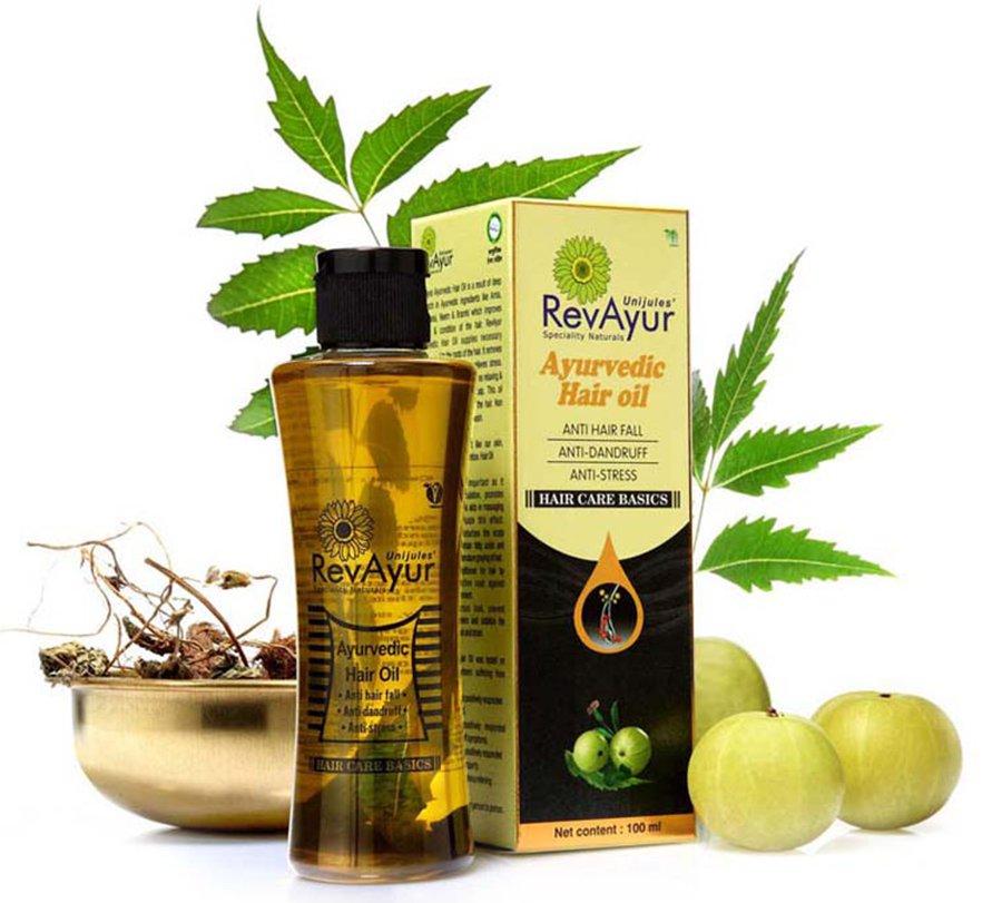 Ayur Hairolin Treatment Oil Image