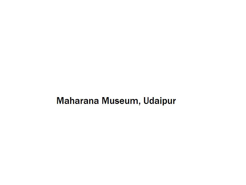 Maharana Museum - Udaipur Image
