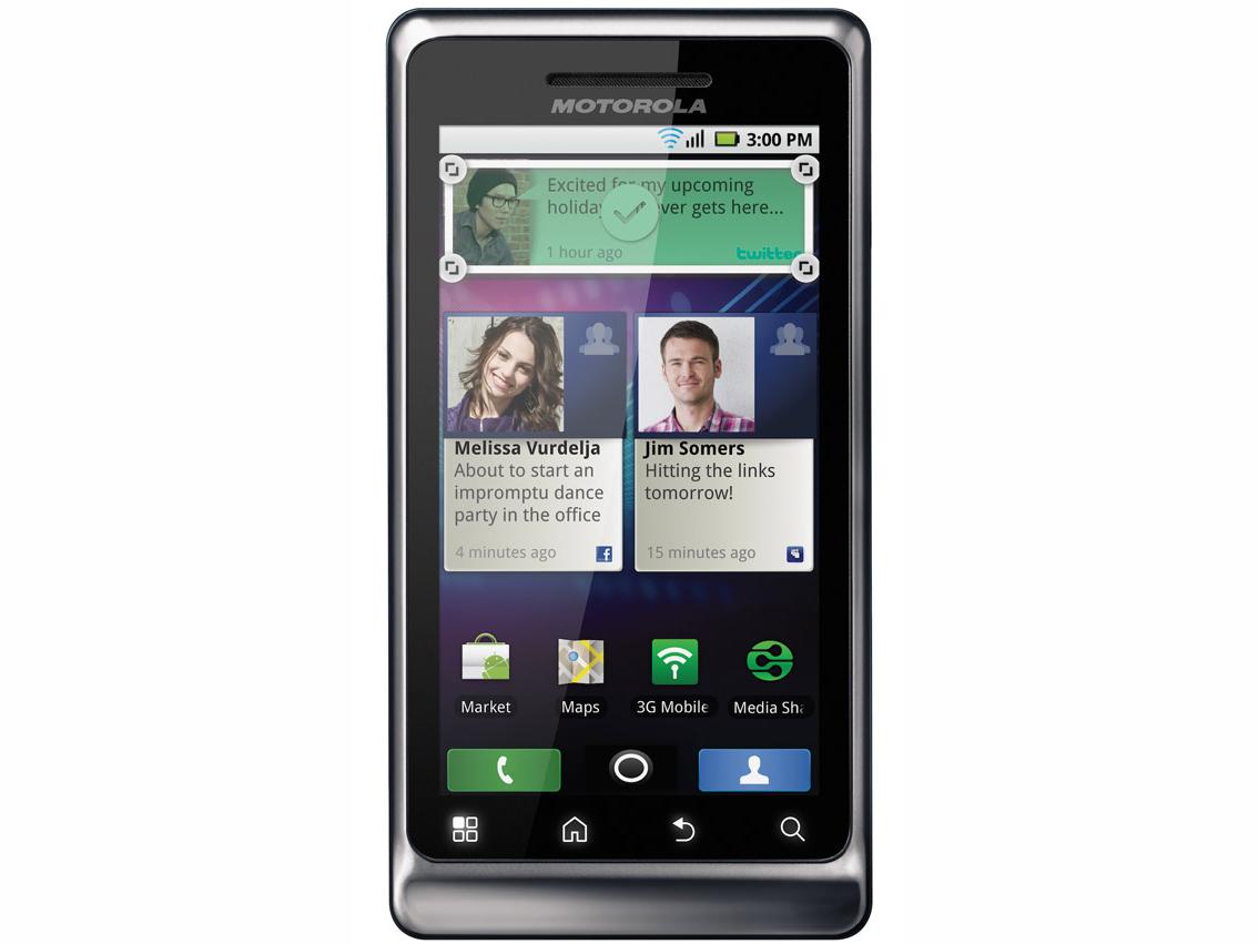 Motorola Milestone 2 ME722 Image