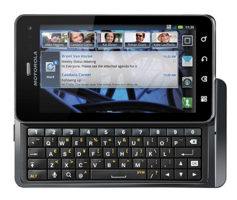 Motorola Milestone 3 XT860 Image