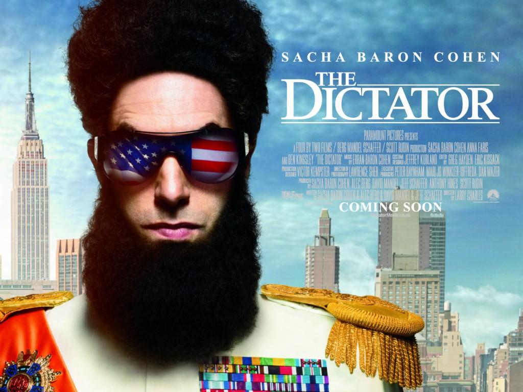 The Dictator Movie Image