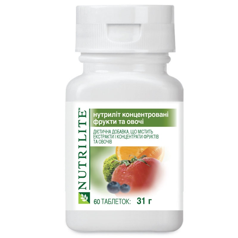 Nutrilite Concentrated Fruit and Vegetables Image