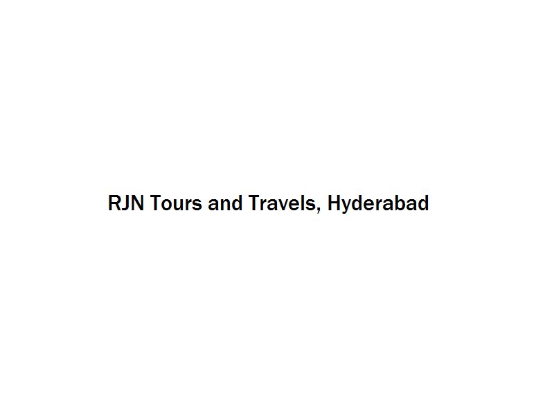 RJN Tours and Travels - Hyderabad Image
