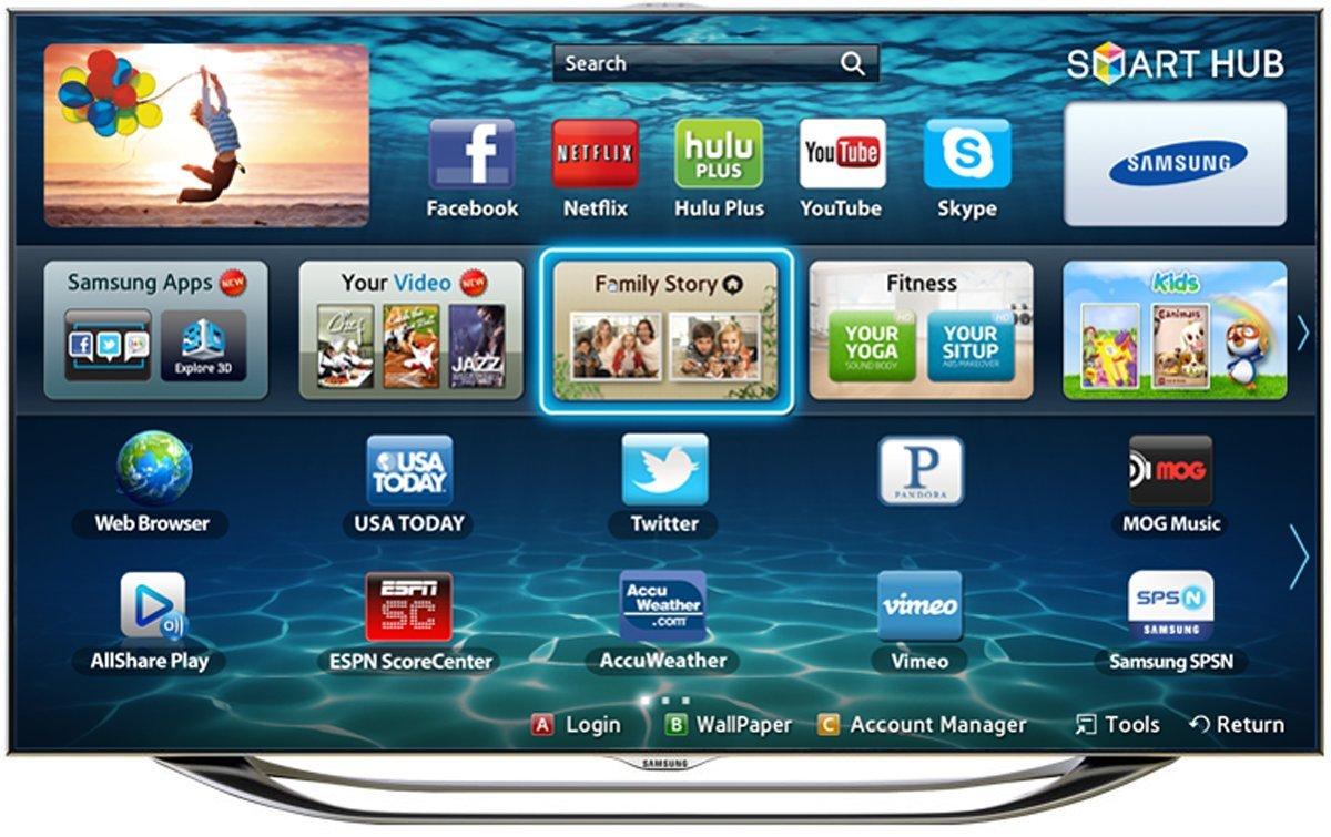 Best - SAMSUNG 65 CLASS LED 8000 SERIES SMART TV Consumer