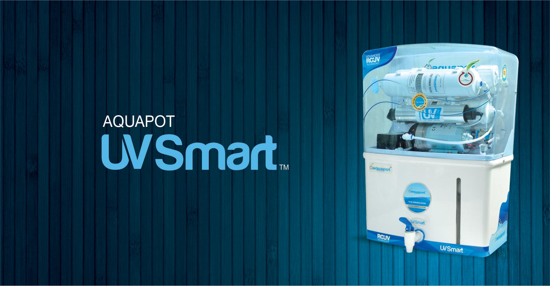 Aquapot UV Smart RO + UV Water Purifier Image