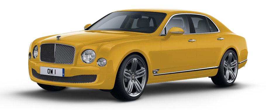 Bentley Mulsanne V8 Image