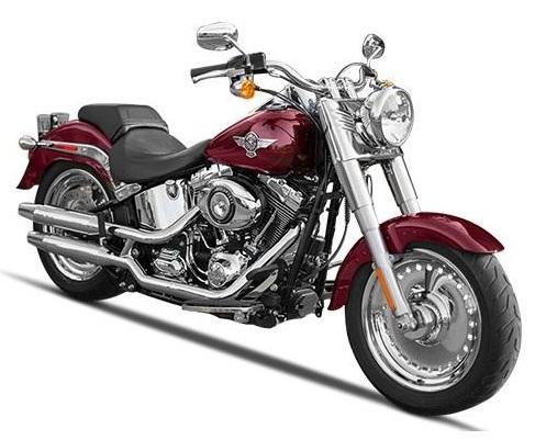 Harley Davidson Softail FLSTF Fat Boy Image