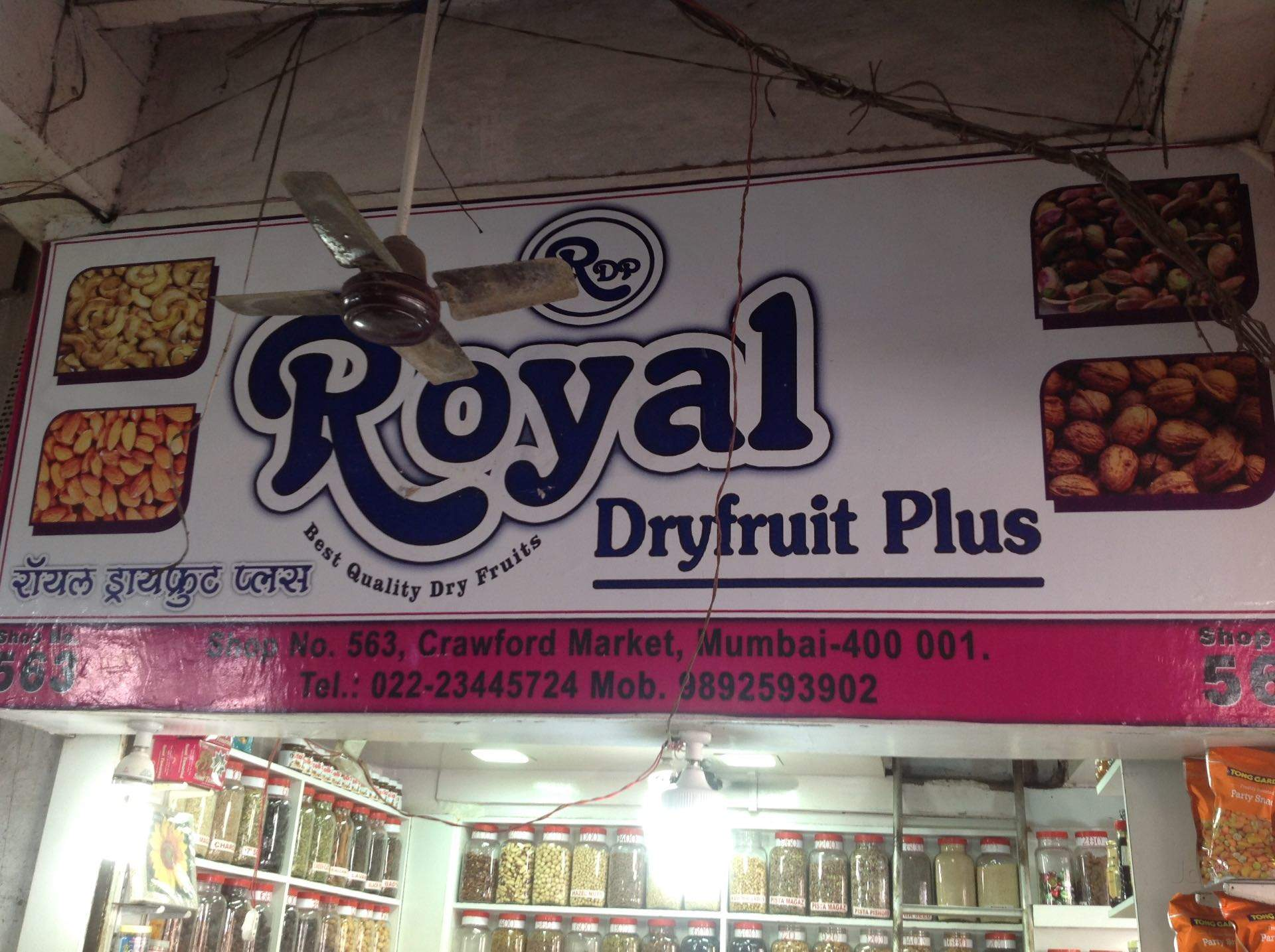 Royal Dry Fruits Range - Crawford Market - Mumbai Image