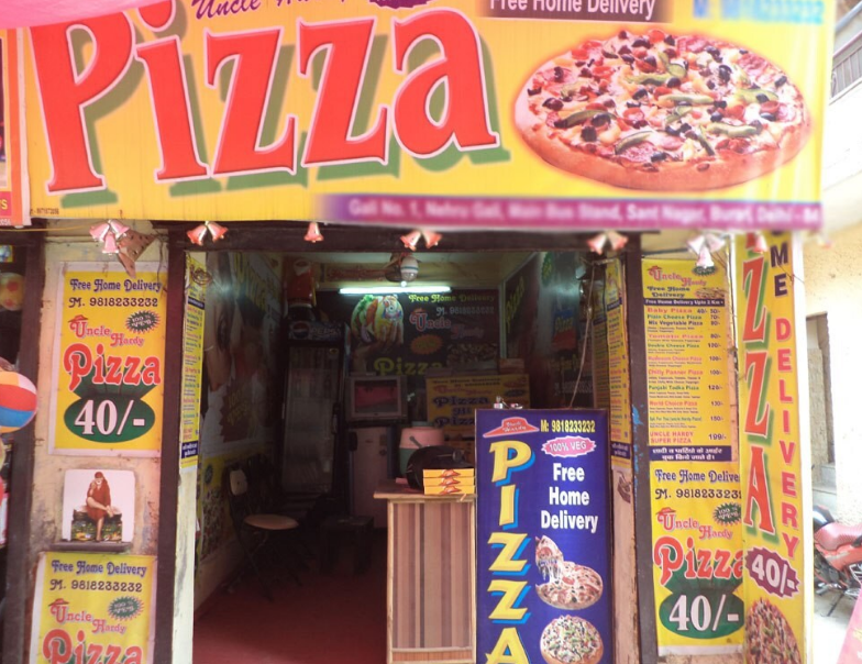 Uncle Hardy Pizza - Burari - Delhi NCR Image