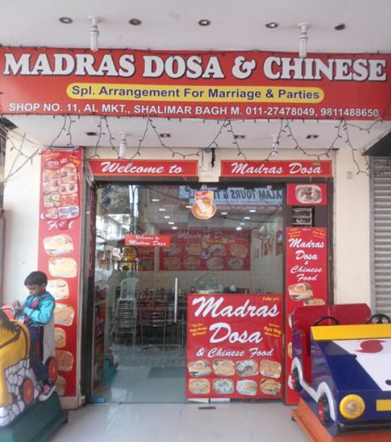 Madras Dosa & Chinese Corner - Shalimar Bagh - Delhi NCR Image