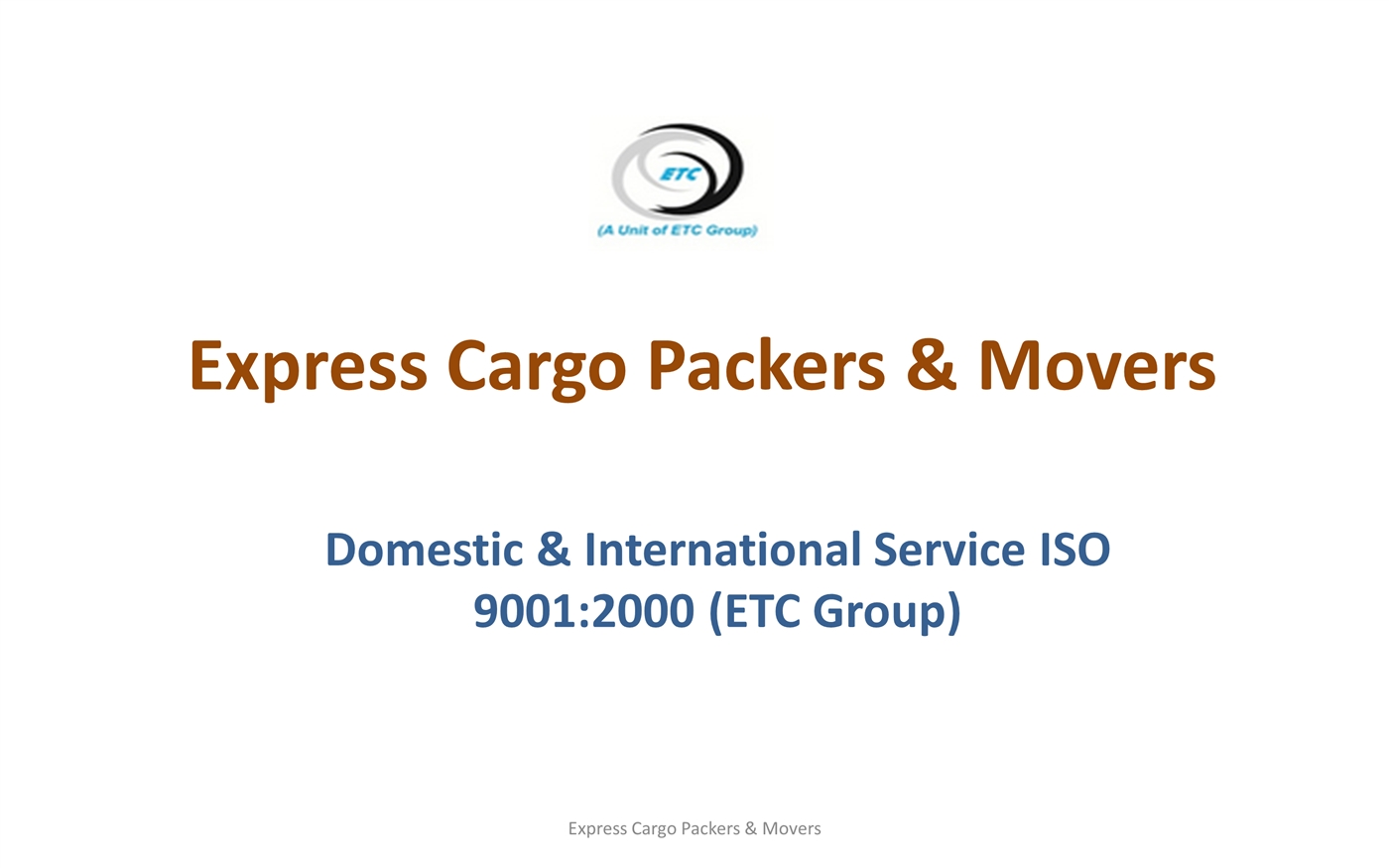 Express Cargo Packers and Movers Image