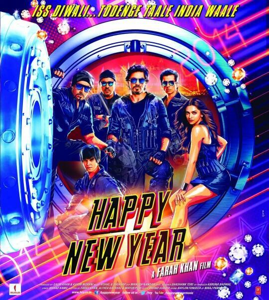 This New Year Will Be A Grand Happy New Year Srk Happy New Year Audience Review Mouthshut Com