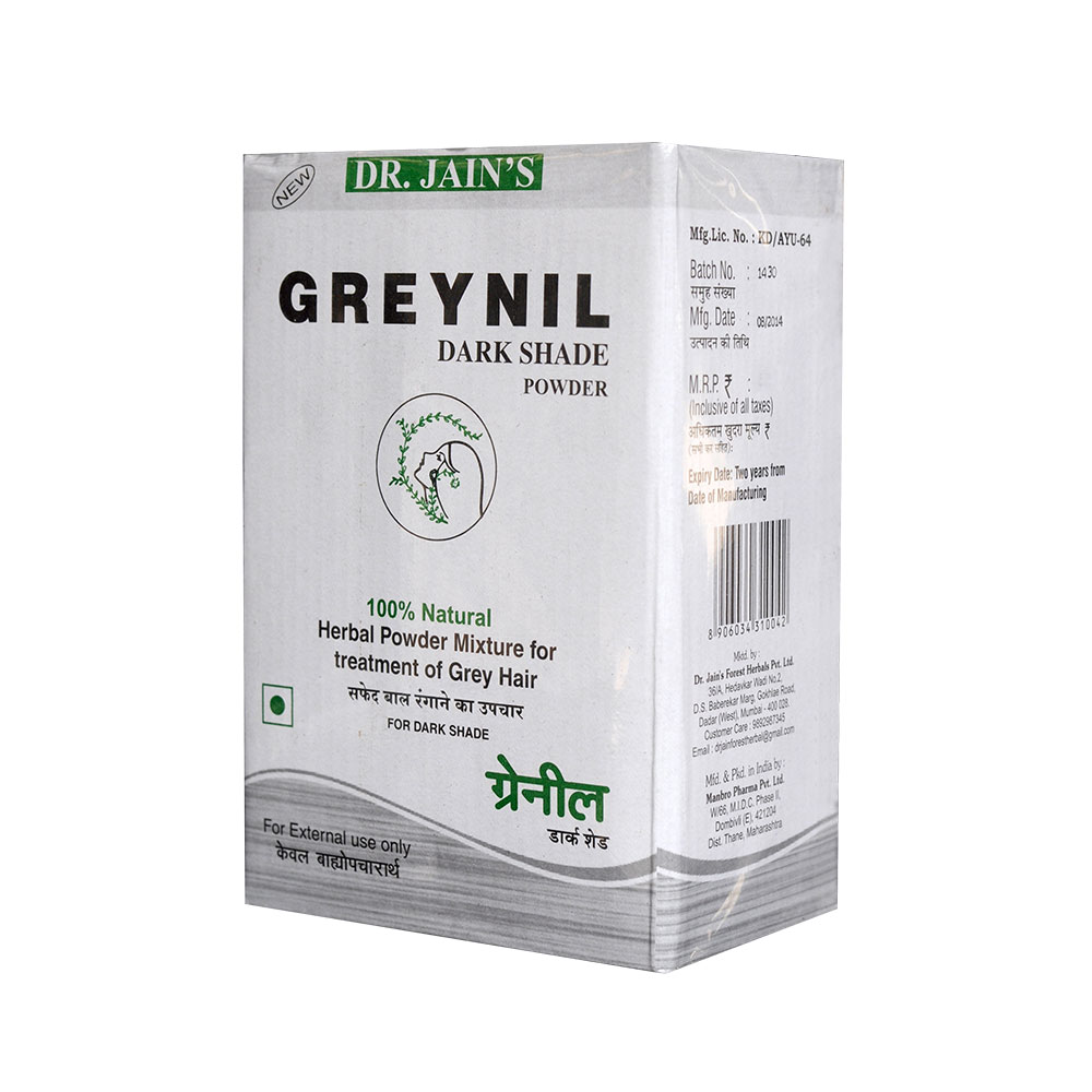 Greynil Herbal Powder for Hair color Image