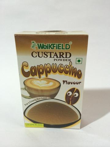 Weikfield Custard Powder - Cappuccino Flavour Image
