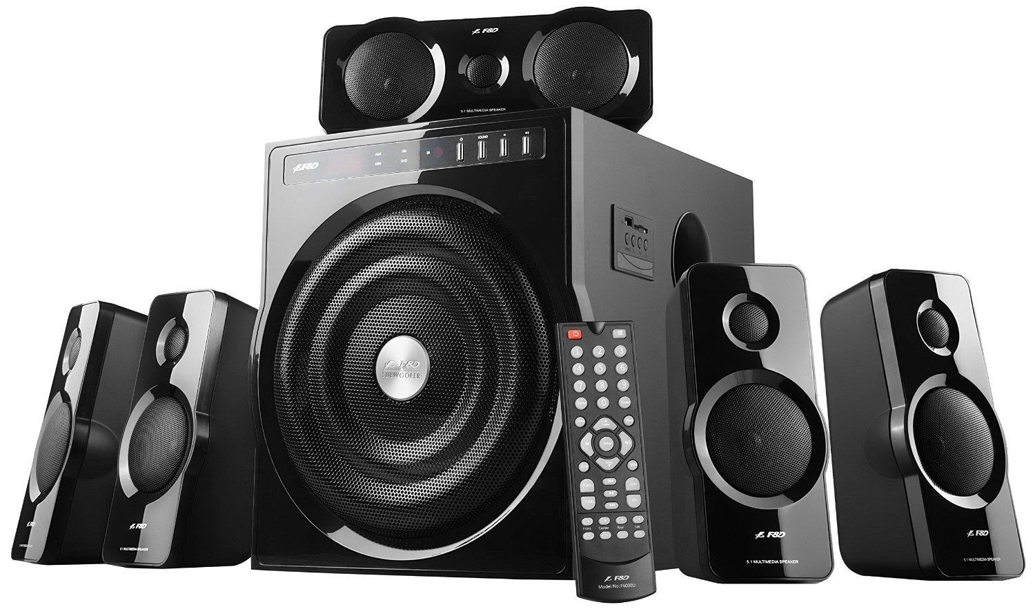 F&D F6000 5.1 5.1 Home Theater Speakers Image