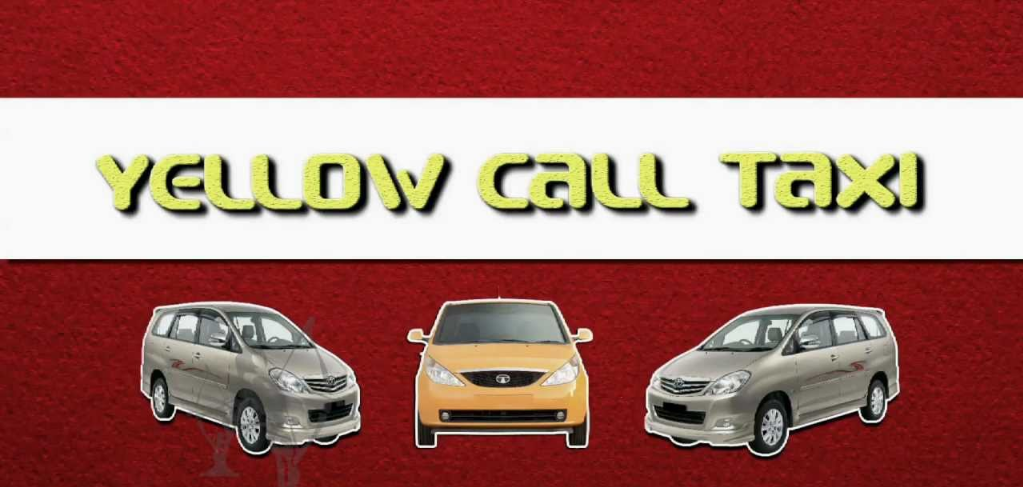 Yellow Call Taxi Image