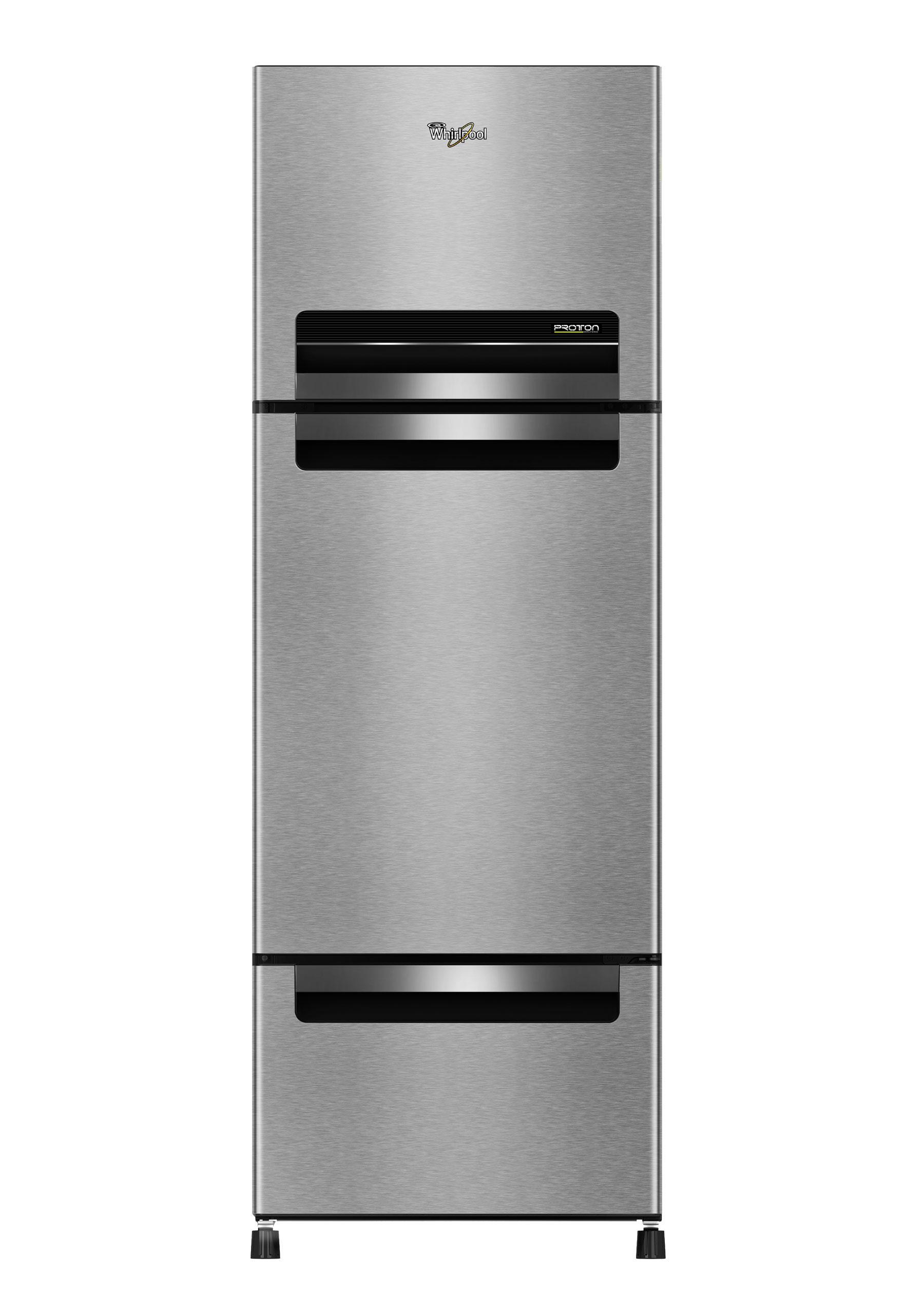 Whirlpool Three Door Refrigerator Fp 343d Protton Dlx