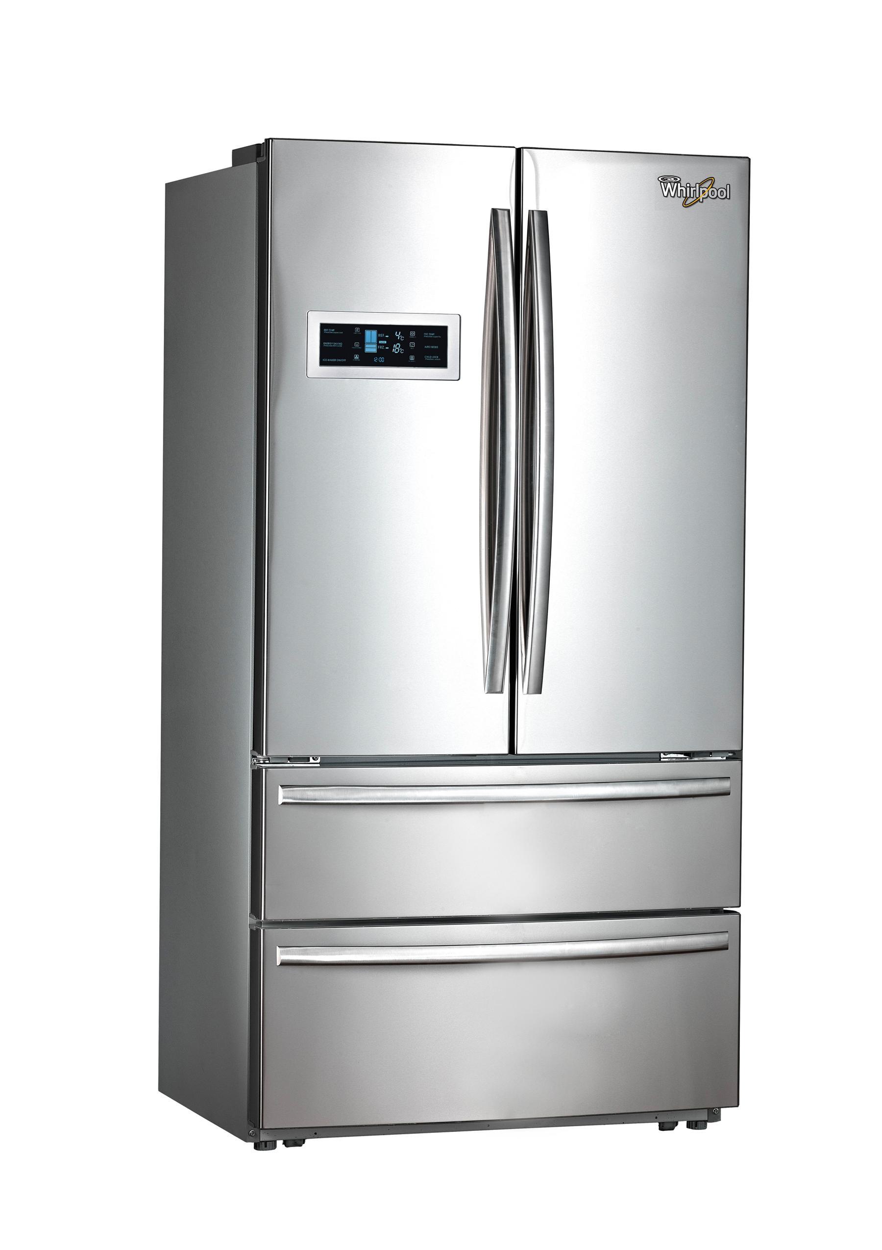 Whirlpool Double Door Refrigerator MM26 DLX FIN Image