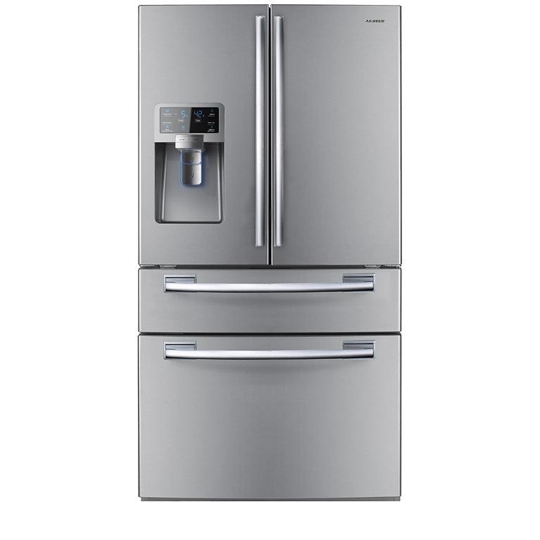 Samsung French Door Refrigerator RFG28MESL1/XTL Image