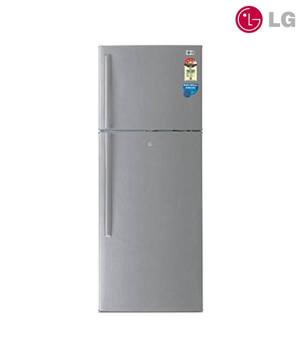 LG Double Door - Top Freezer Refrigerator GL-368YSQ4 Image