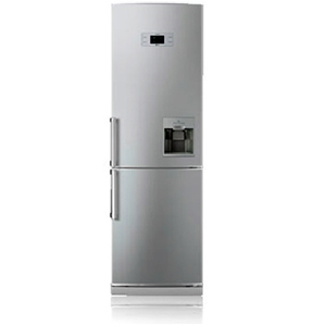 LG Double Door   Bottom Freezer Refrigerator GCF419BLQAPVPEBN Image