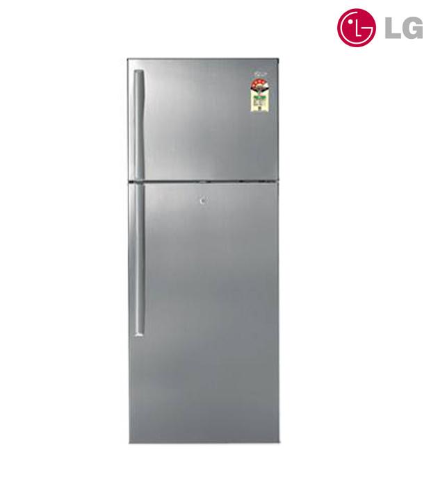 LG Double Door - Top Freezer Refrigerator GL-408YSQ4 Image