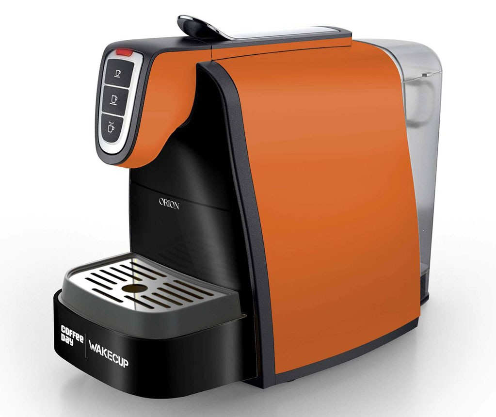 Cafe Coffee Day Wakecup 4 Cup Fully Automatic Brewer Coffee Maker Orion Image