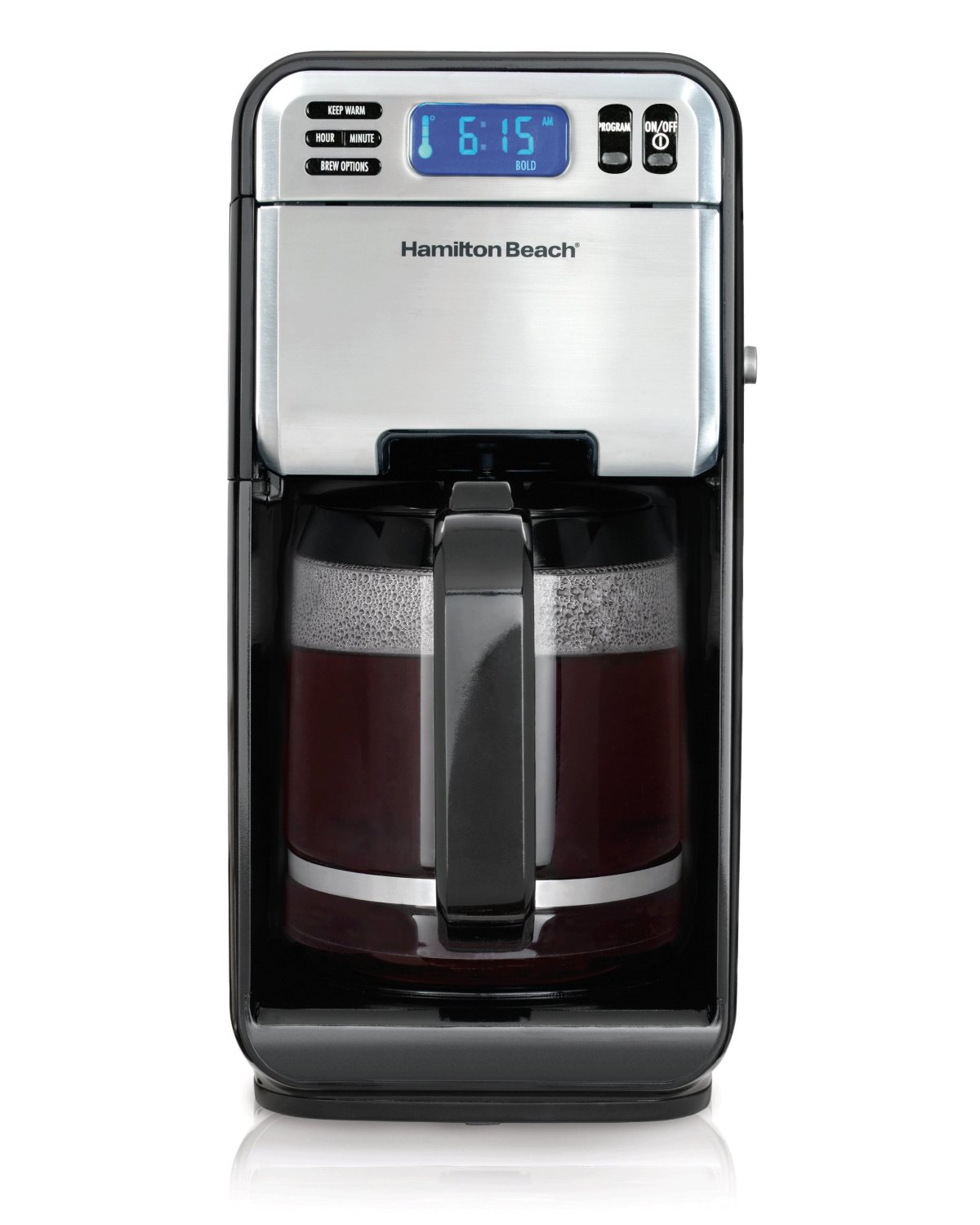 Hamilton Beach 12 Cup Programmable Coffee Maker Image