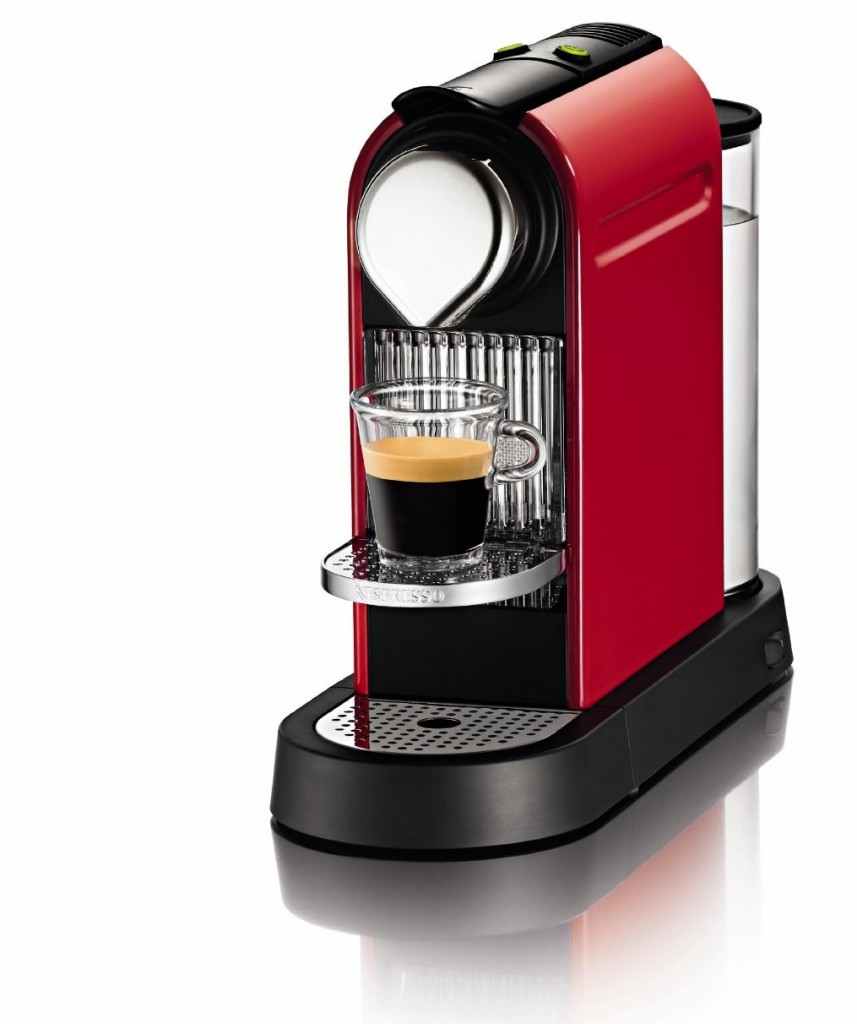 Nespresso Krups Citiz 6 Cup Coffee Machine Xn720540