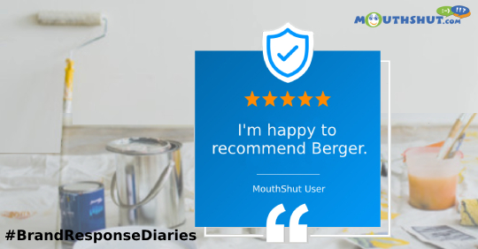 BERGER PAINTS Reviews BERGER PAINTS Price Complaints Customer Care BERGER