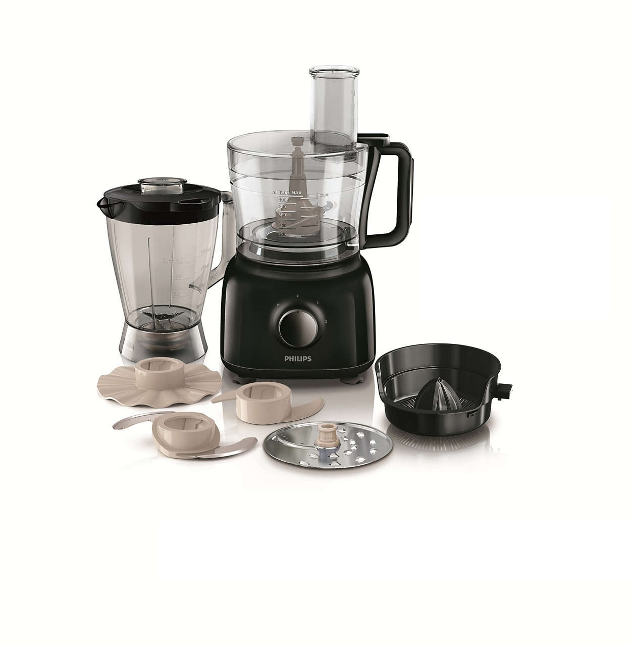Philips Food Processor HR7682/00 Image