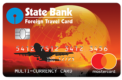 State Bank Foreign Travel Card Image