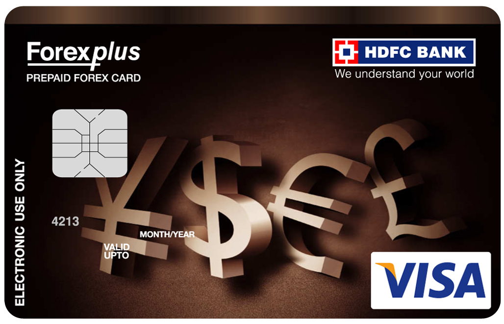Hdfc forex plus prepaid card online login