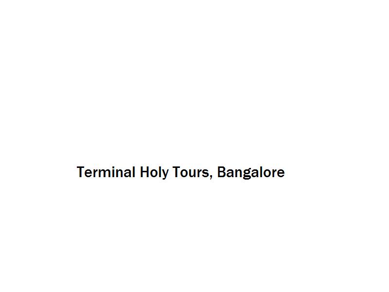 Terminal Holy Tours - Bangalore Image