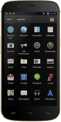 Micromax A300 Canvas Gold Image