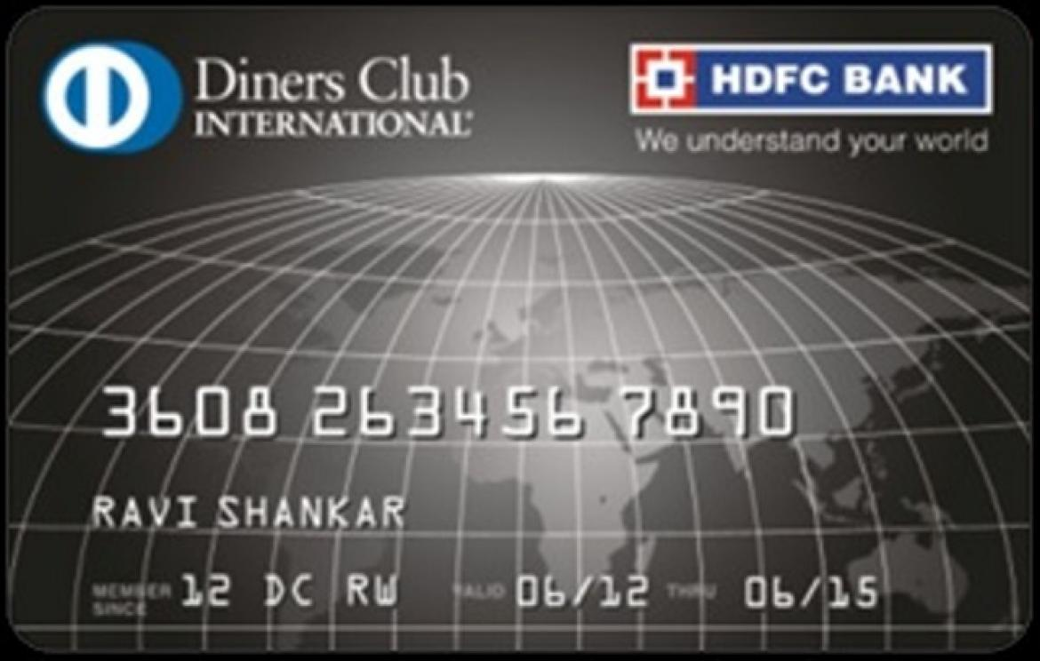 HDFC Bank Diners Club Credit Card Image