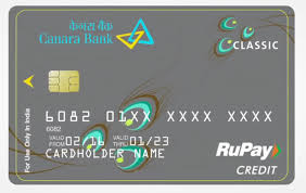 Canara Bank Visa Credit Card Image