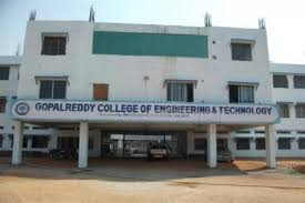 Gopal Reddy College of Engineering and Technology - Medak Image