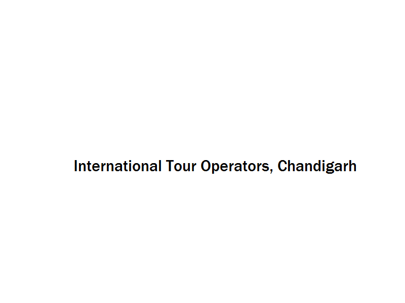 International Tour Operators - Chandigarh Image