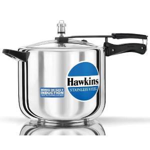 Hawkins Futura Stainless Steel 10 L Pressure Cooker D40 Image