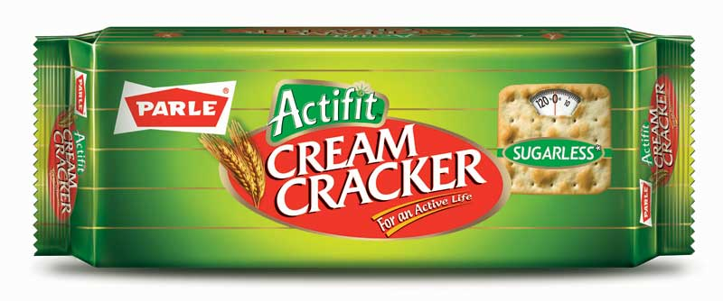 Parle Sugarless Actifit Cream Cracker Image