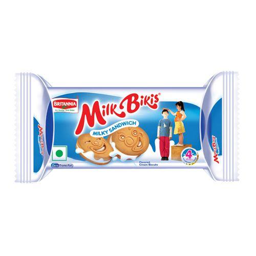 Britannia Biscuits Milk Bikis Milk Cream Image