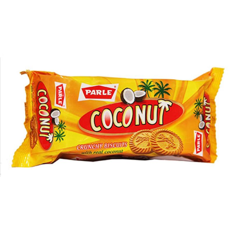 Parle Biscuits Coconut Crunchy with Real Coconut Image
