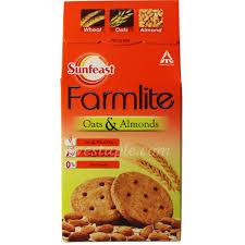 Sunfeast Farmlite Biscuit Oats & Almonds Image