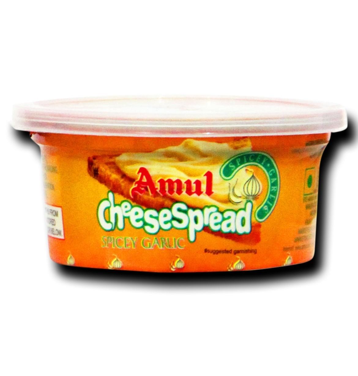 Amul Cheese Spread Spicy Garlic Image