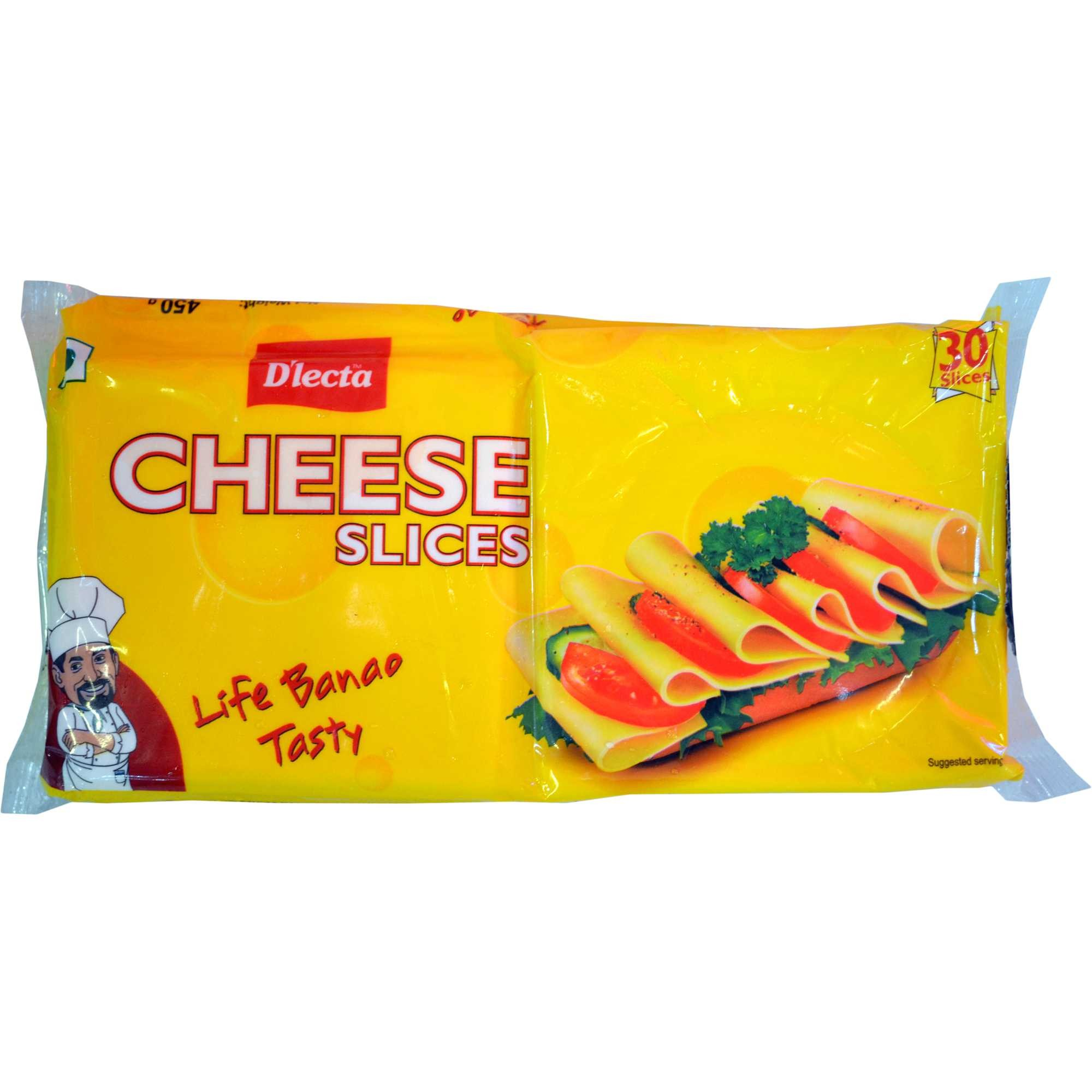 D'Lecta Cheese Slices Image