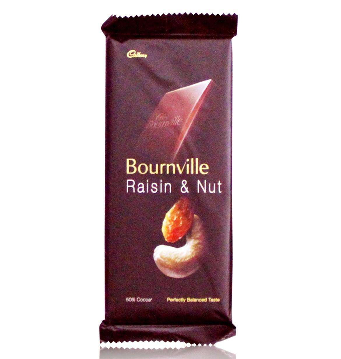 Cadbury Bourneville Nut & Raisin Image